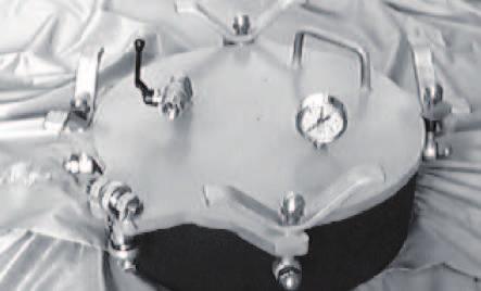 Boca de hombre redonda de apertura super-rápida