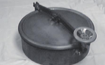 Boca de hombre redonda con cierre a baja presión